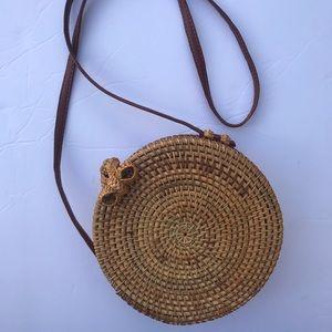 Savanna woven purse